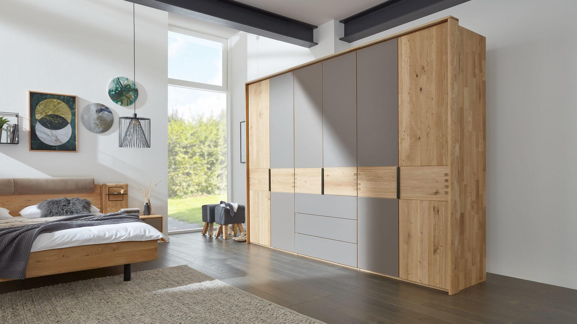 Interliving Schlafzimmer Serie 1015 Kleiderschrank 6326 Mit Passepartout