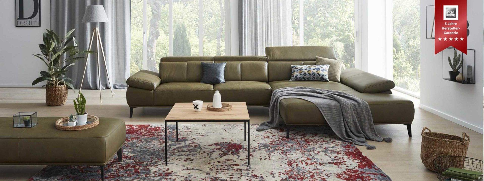 Interliving Sofa Serie 4002 HF Ecksofa Highlight