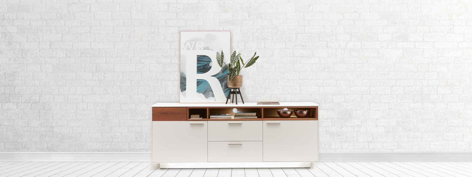 Interliving sideboards Serie 2102 Highlight 1
