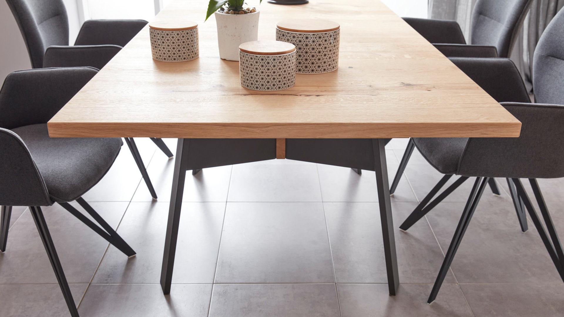 esstisch schwarz lack, interliving wohnzimmer serie 2103 – esstisch, schieferschwarzer lack &,, Design ideen