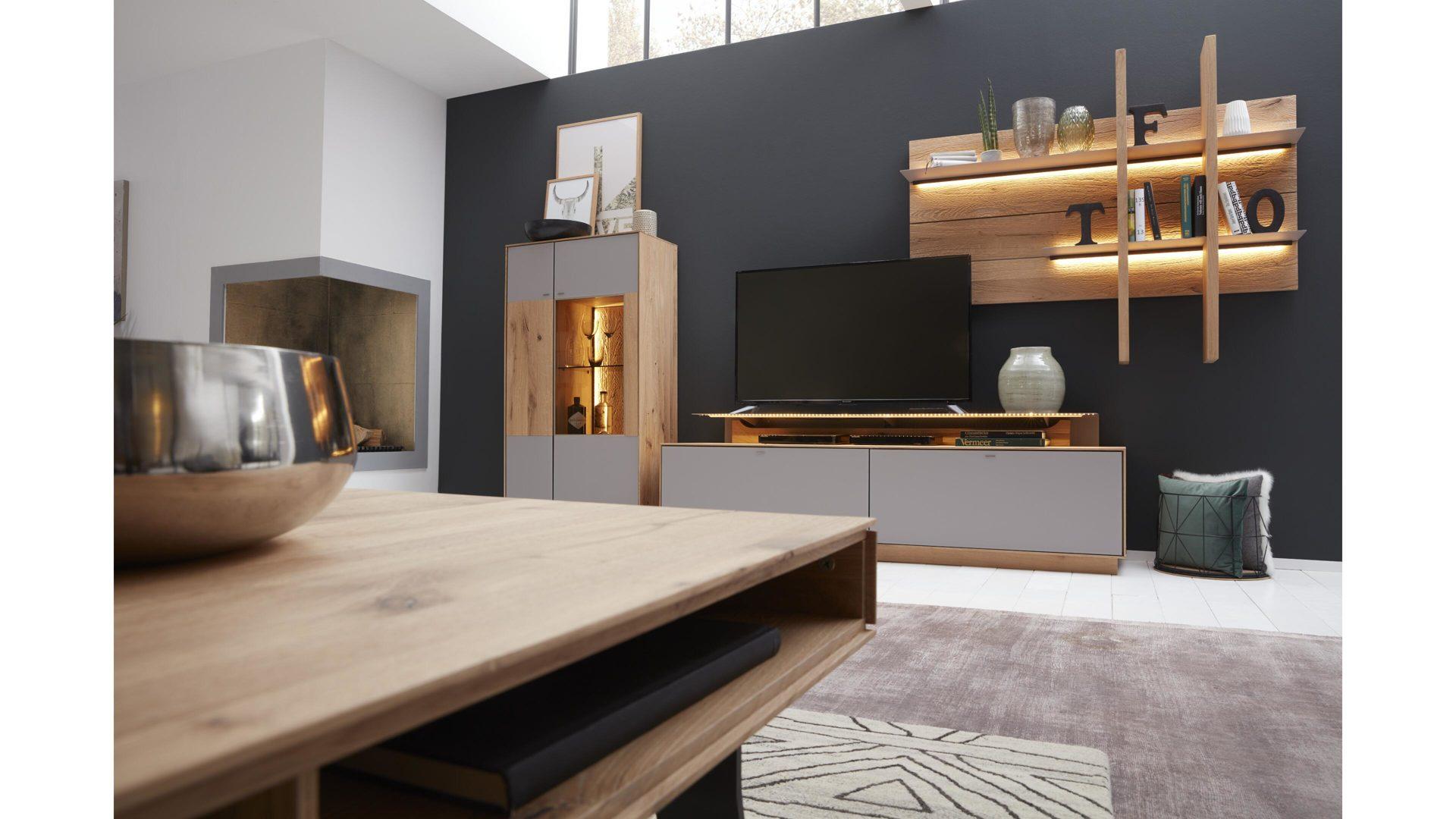 interliving wohnzimmer serie 2001 couchtisch geburstete kerneiche 360 ansicht