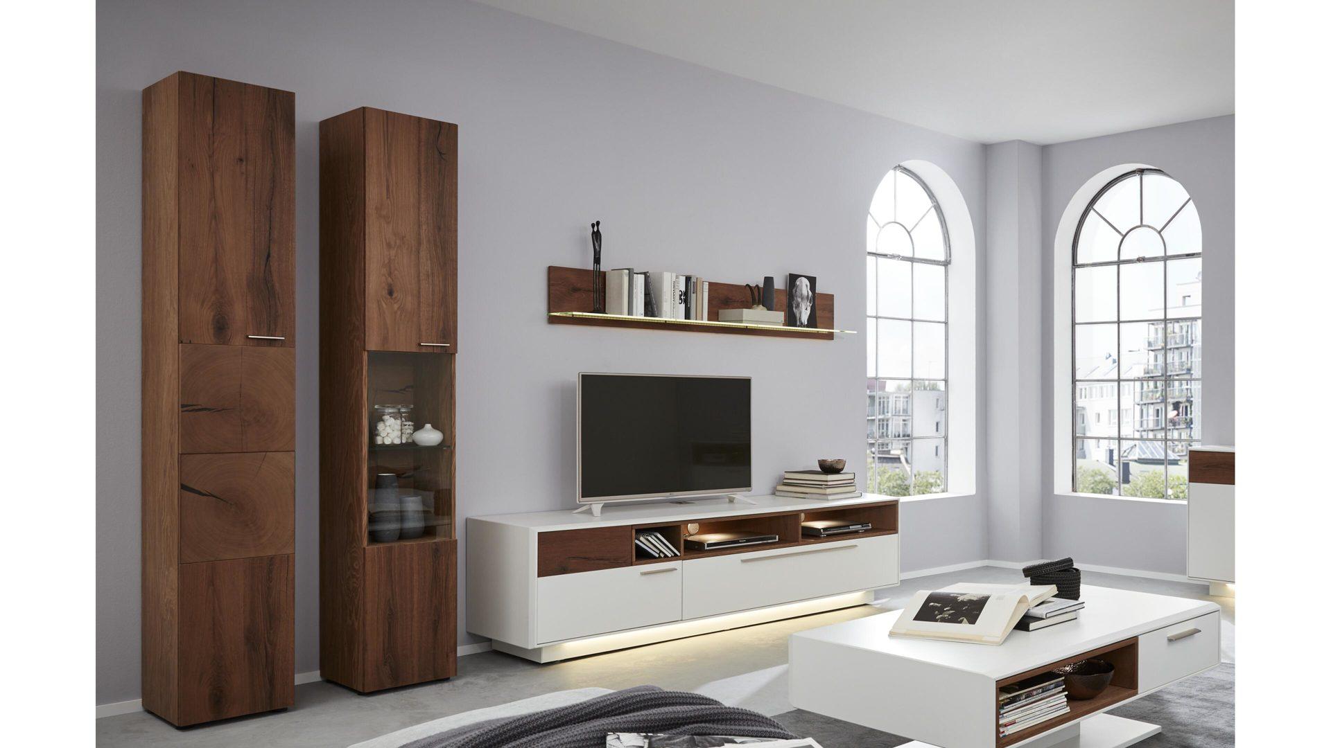 Interliving Wohnzimmer Serie 2102 Wohnkombination 510804s Mit